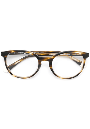 Etnia Barcelona Babylon round glasses - Brown