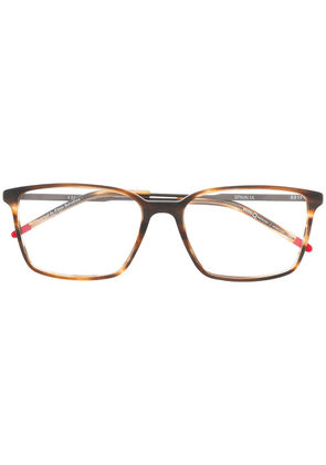 Etnia Barcelona square frame glasses - Brown