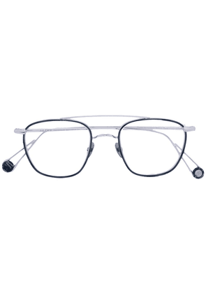 Ahlem round lens glasses - Metallic
