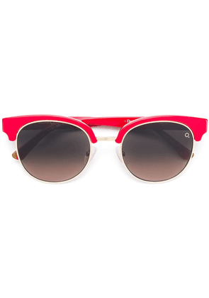 Etnia Barcelona Marina round sunglasses - Red