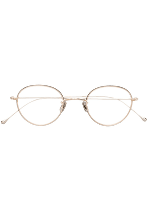 Eyevan7285 circle glasses - Gold