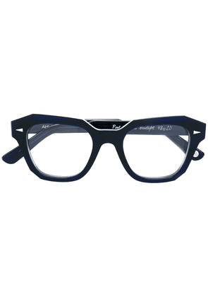 Ahlem square frame glasses - Blue