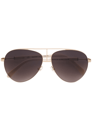 Balmain aviator sunglasses - Metallic