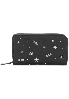 Jimmy Choo Carnaby continental wallet - Black