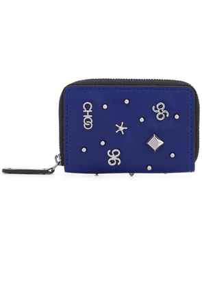 Jimmy Choo Malone small wallet - Blue