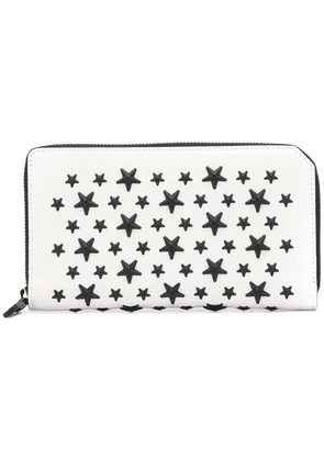 Jimmy Choo Carnaby wallet - White