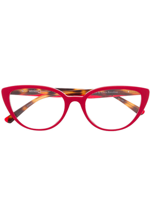 Etnia Barcelona cat-eye shaped glasses - Red