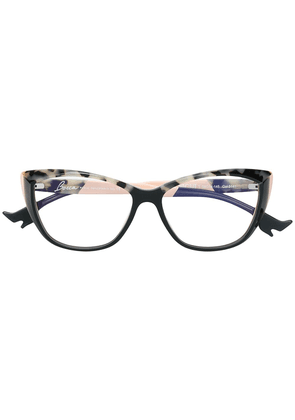 Face À Face tortoiseshell cat-eye glasses - Black
