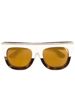 Dax Gabler tonal brown 'N°02' acetate sunglasses - Neutrals