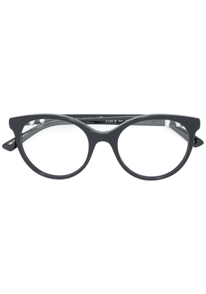 Bulgari round frame glasses - Black
