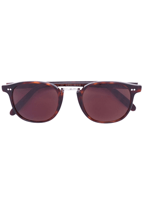 Cutler & Gross rounded square sunglasses - Brown
