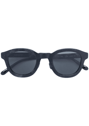 Eyevan7285 brush effect sunglasses - Black