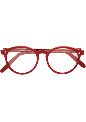 Cutler & Gross round shaped glasses - Red