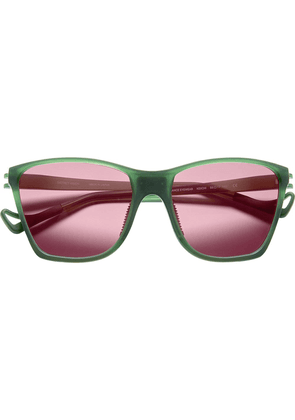 District Vision green Keiichi District Sky G15 sunglasses