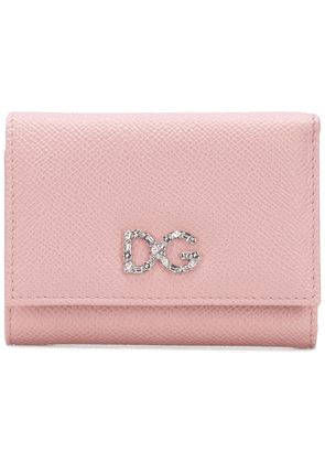 Dolce & Gabbana small Dauphine wallet - Pink