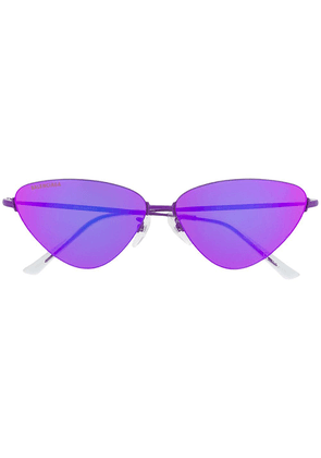 Balenciaga Invisible Cat sunglasses - Purple