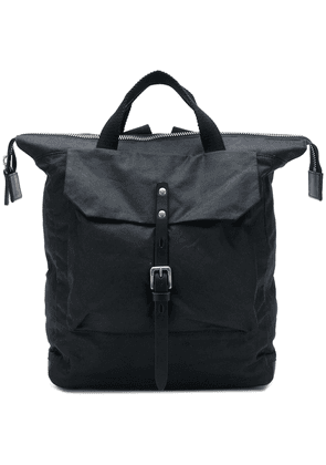 Ally Capellino Frances Waxed rucksack - Black