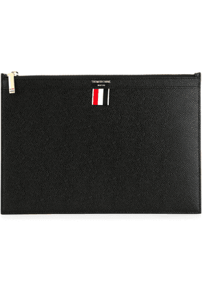Thom Browne SMALL TABLET HOLDER - Black