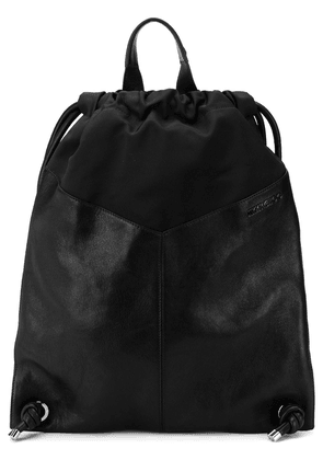 Jimmy Choo Marlon biker star stud backpack - Black