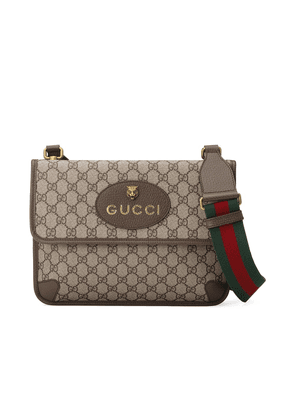 Gucci GG Supreme messenger bag - Neutrals