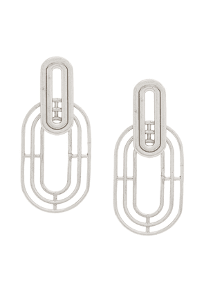 Charlotte Valkeniers Meta earrings - Silver