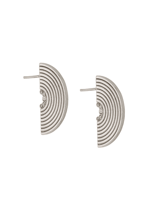 Charlotte Valkeniers Half Spectrum earrings - Silver