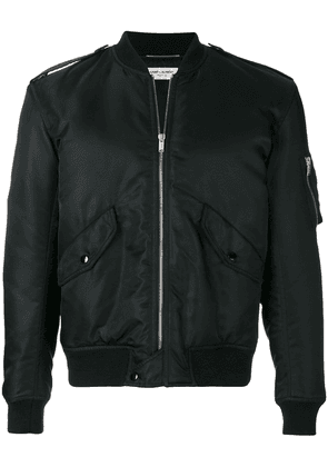 Saint Laurent padded bomber jacket - Black