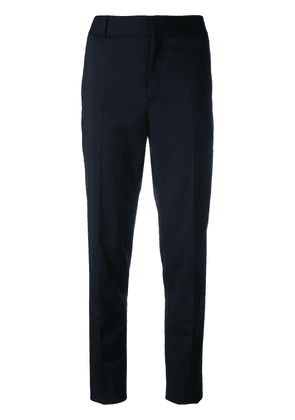 Saint Laurent classic mid-rise trousers - Black