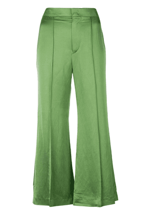 Isabel Marant cropped trousers - Green