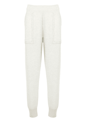 Bottega Veneta tapered knitted track pants - Grey
