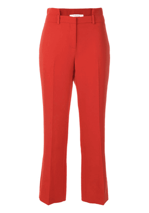 Givenchy cutout waistband trousers - Red