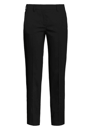 Prada cropped slim-fit trousers - Black