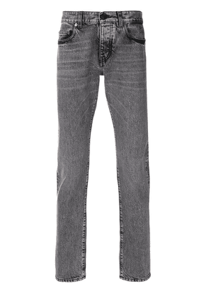 Saint Laurent classic fitted jeans - Grey