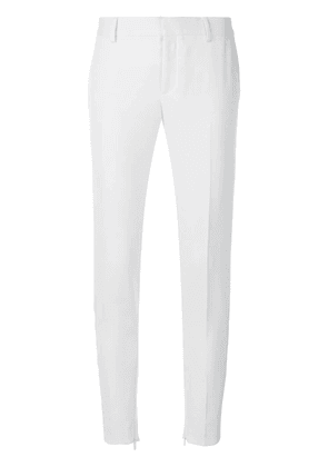 Saint Laurent tailored fitted trousers - White