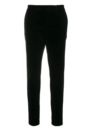 Saint Laurent classic slim-fit trousers - Black