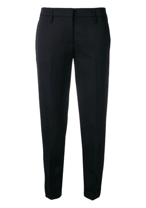 Aspesi tailored cropped trousers - Blue