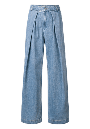 Christian Wijnants wide-leg jeans - Blue