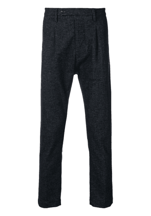 Al Duca D'Aosta 1902 droped-crotch trousers - Blue