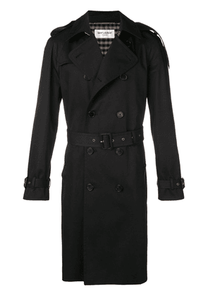 Saint Laurent Classic trench coat - Black