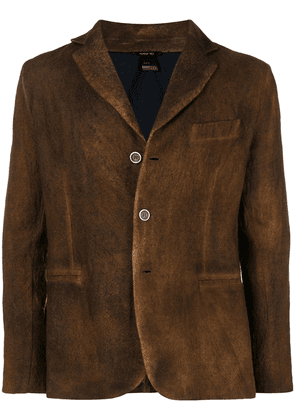 Avant Toi classic fitted blazer - Brown