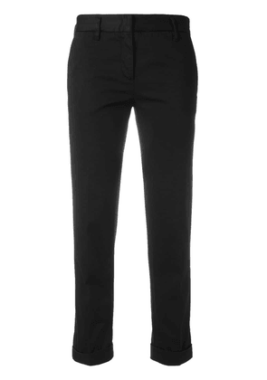 Aspesi cropped trousers - Black