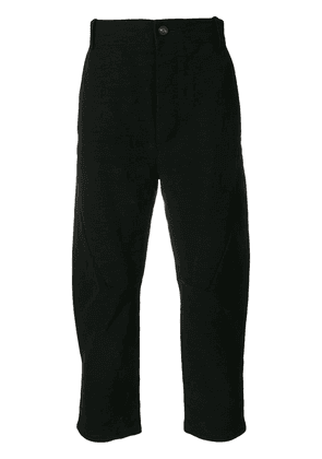 Cedric Jacquemyn decoup trousers - Black