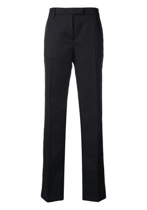 Prada mid-rise flared trousers - Black