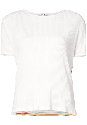 Loewe inside-out style T-shirt - Neutrals