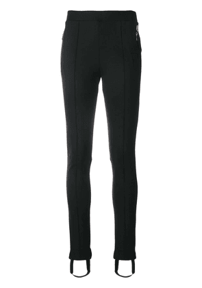 Moncler skinny stirrup trousers - Black