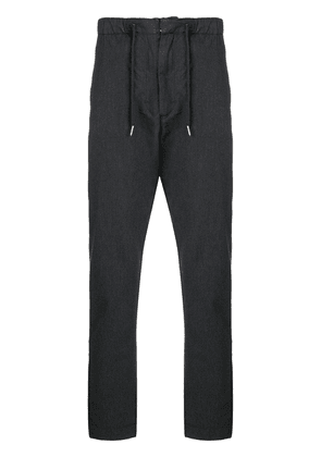 Bellerose drawstring tapered trousers - Grey