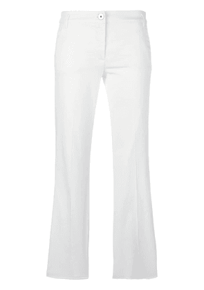 Dorothee Schumacher cropped pants - White