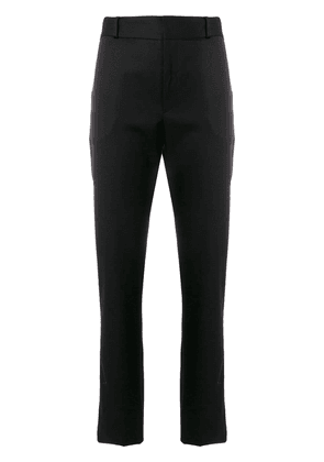 Saint Laurent side-stripe tailored trousers - Black