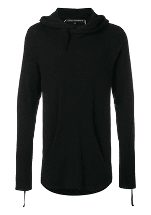 Cedric Jacquemyn hooded sweater - Black