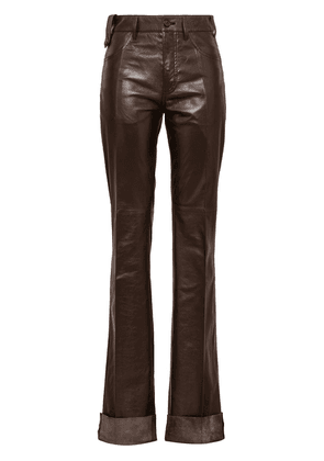 Prada flared trousers - Brown